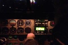 Vol de nuit - le cockpit