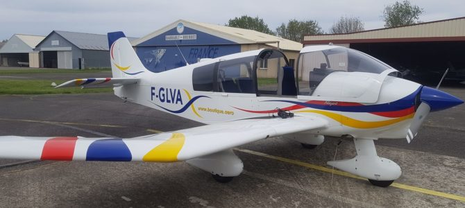 Nouvel avion – F-GLVA