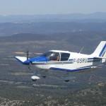 DR400 en vol